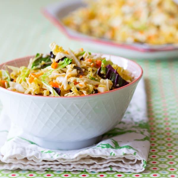 sesame coleslaw
