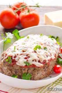 crockpot Italian zucchini meatloaf recipe | Healthy Seasonal Recipes