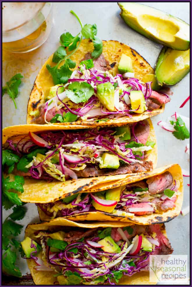 Chipotle Steak Tacos Recipe — Dishmaps
