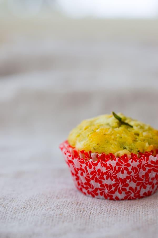 gluten free arugula cheddar muffins healthyseasonalrecipes.com