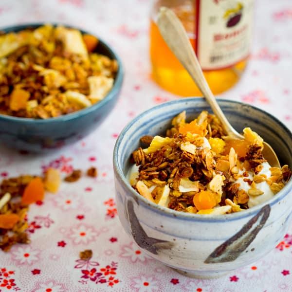 coconut granola {gluten-free}