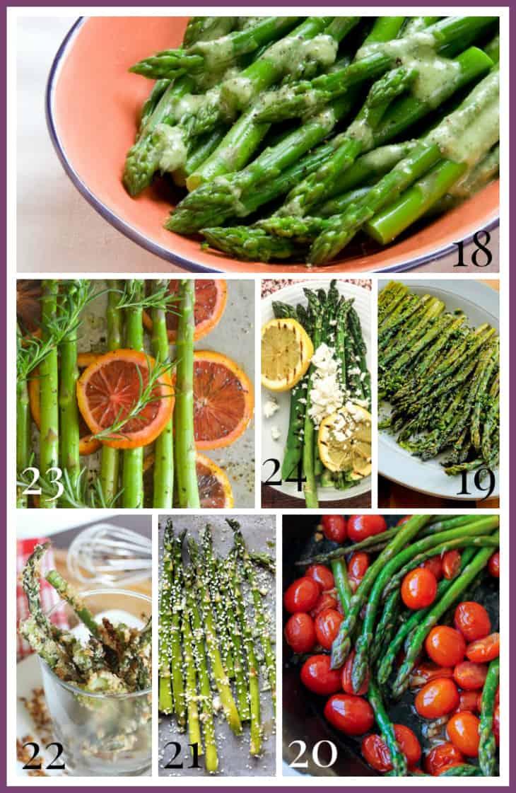 Asparagus Vegetarian Main Dish Recipes