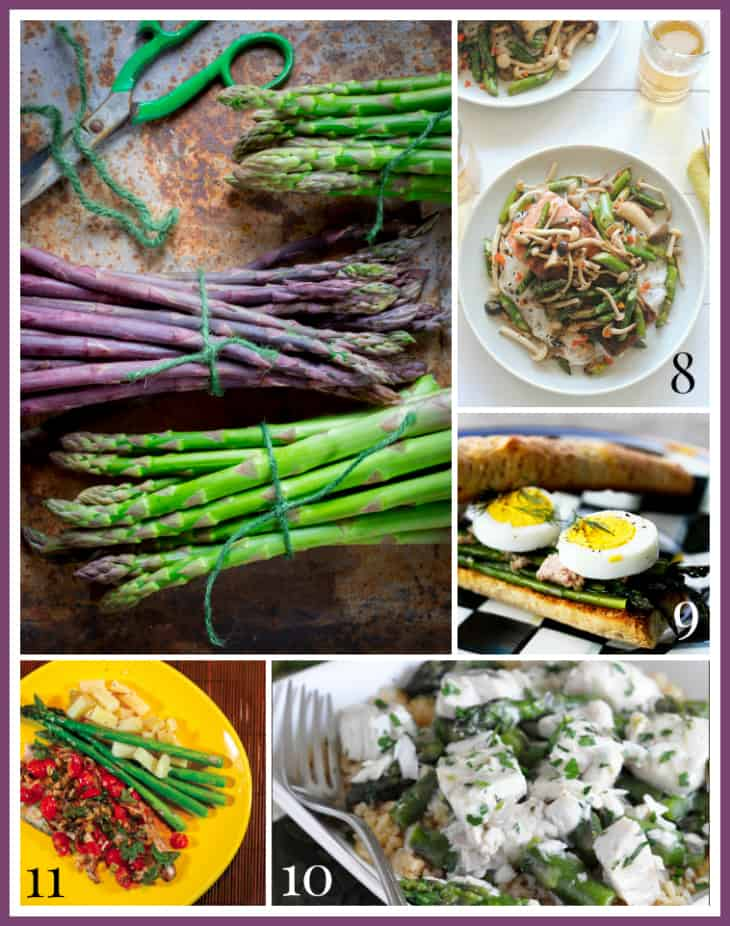 35 Healthy Asparagus Recipes on Healthy Seasonal Recipes