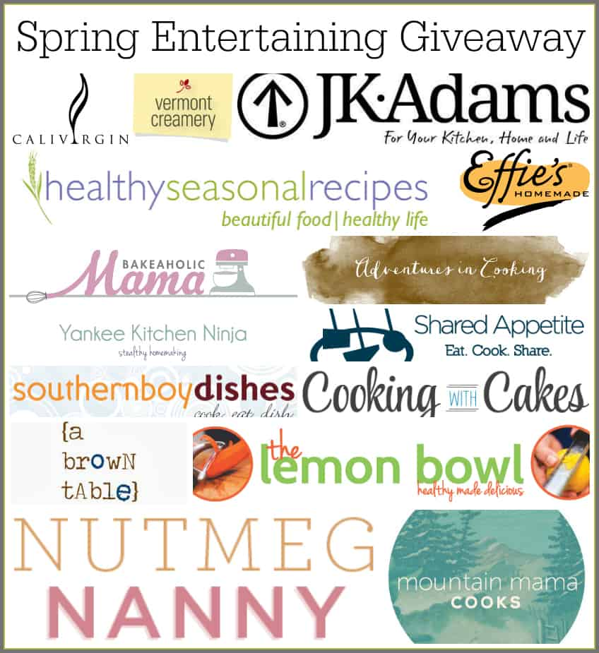 Spring Entertaining Giveaway!