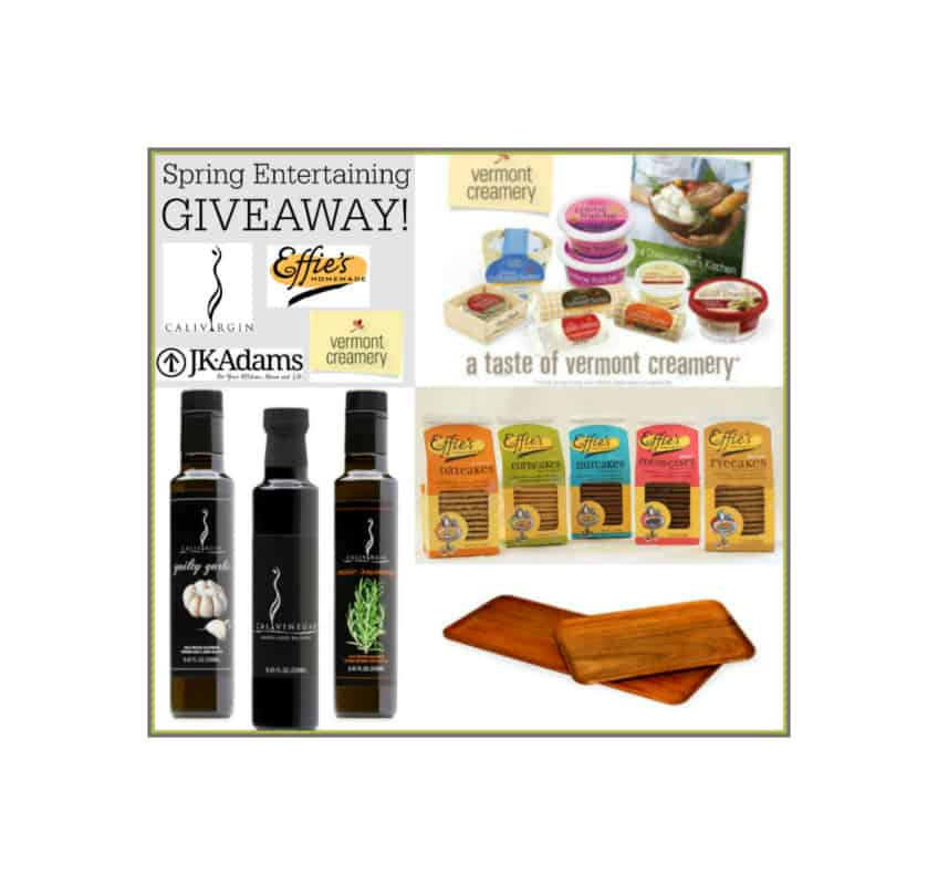 Spring Entertaining Giveaway