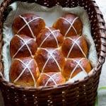 Sweet Potato and Brown Butter Hot Cross Buns