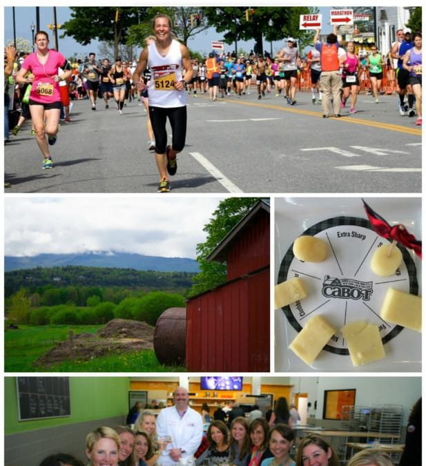 my weekend at vermont city marathon with the cabot fit team