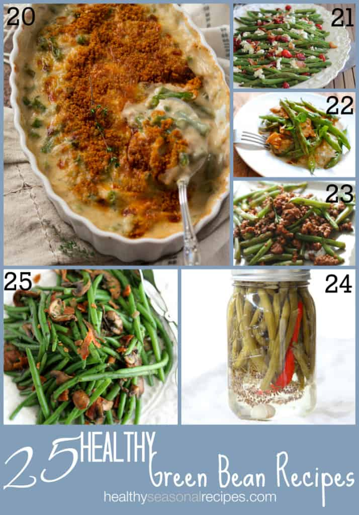 25 healthy Green Bean Recipes on healthyseasonalrecipes.com
