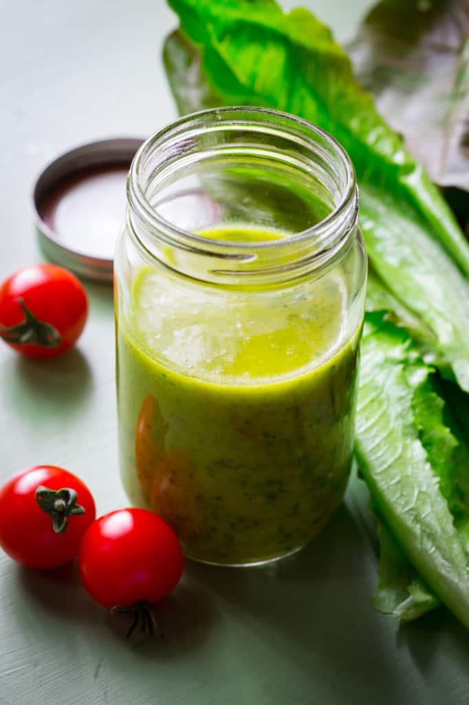 Caper Vinaigrette, natually gluten-free and paleo on Healthy Seasonal Recipes