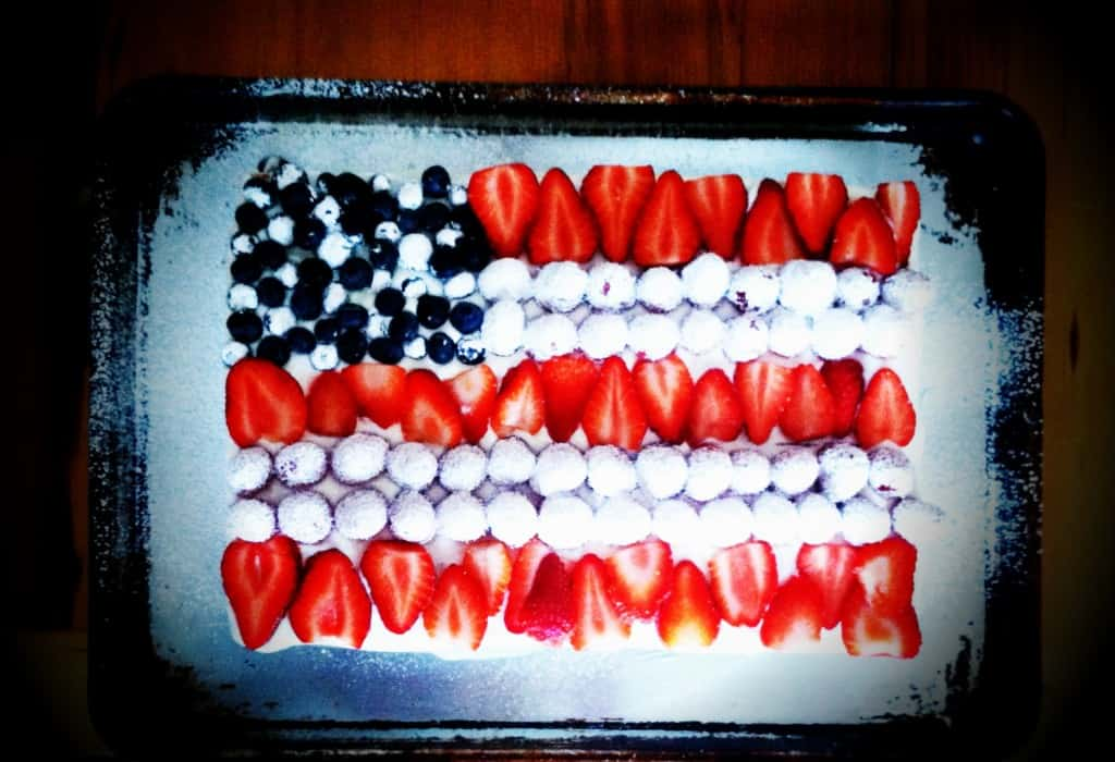 flag-cake for eatingwell on healthyseasonalrecipes.com
