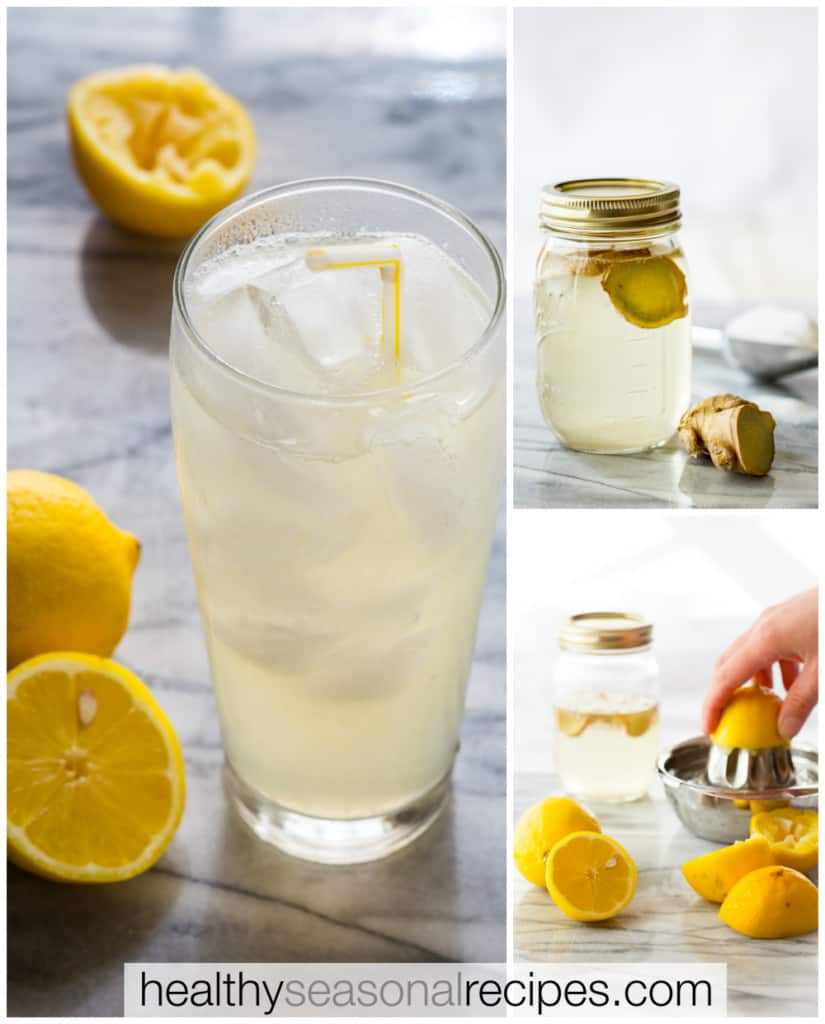 ginger lemonade recipe on healthyseasonalrecipes.com