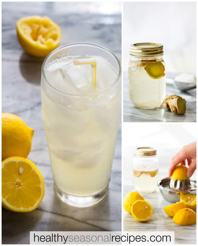 ginger lemonade recipe on healthyseasonalrecipes.com