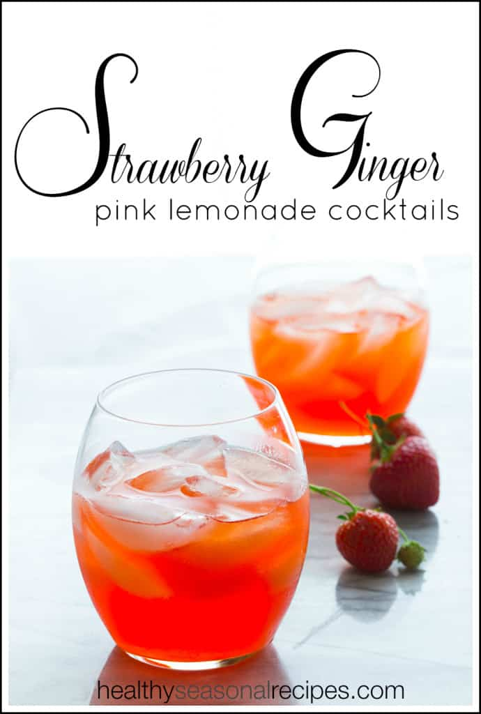 strawberry-ginger-pink-lemonade-cocktail