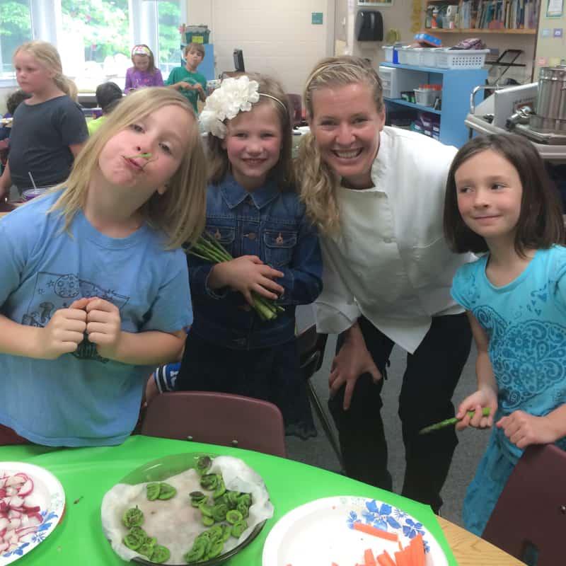 cooking with kids on healthyseasonalrecipes.com