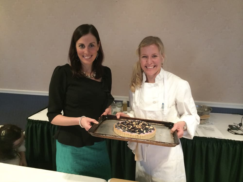 VAND cooking demo | Blueberry almond tart