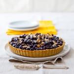 blueberry almond tart on healthy seasonal recipes