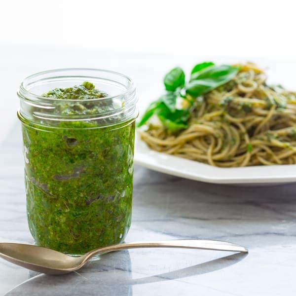 minute classic basil pesto - Healthy Seasonal Recipes