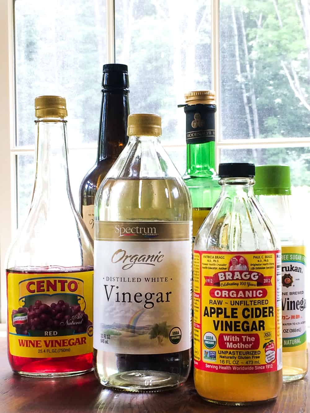 what is the difference between vinegars