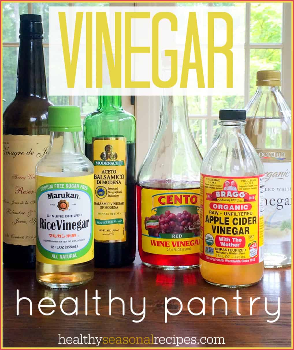 thursday things ~ healthy pantry ~ vinegar