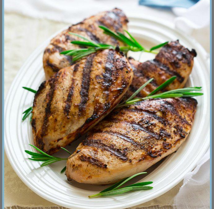 wine brined grilled chicken