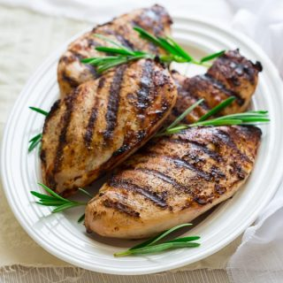 wine brined grilled chicken