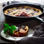 Gluten-Free Plum Clafoutis on HealthySeasonalRecipes.com