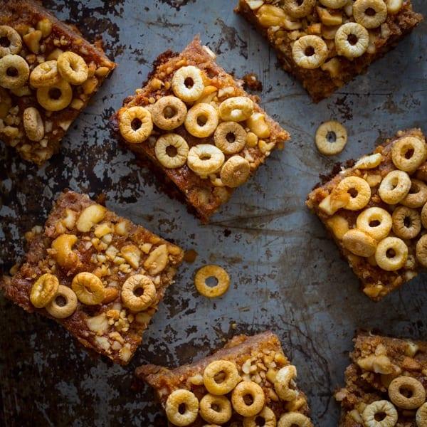 honey nut snack bars - Healthy Seasonal Recipes