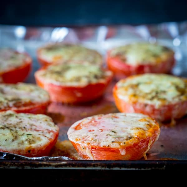 cheddar roasted tomatoes {vegetarian and glutenfree ...