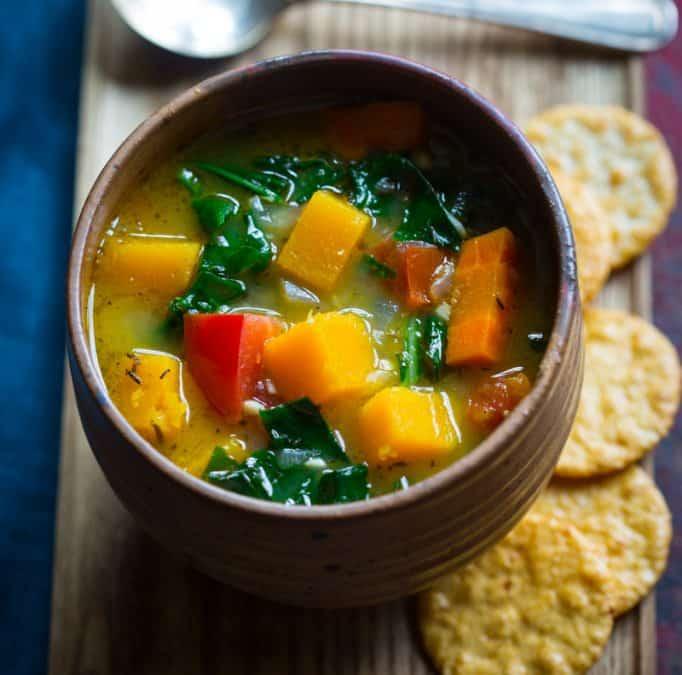 harvest vegan vegetable soup