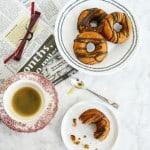 Paleo Pumpkin Chocolate Donuts by Amy Stafford
