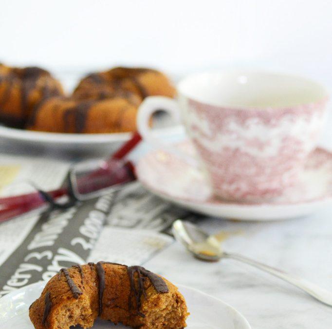 paleo chocolate pumpkin donuts