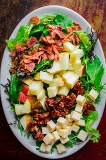 Vermont Fall Salad with Cheddar and Bacon