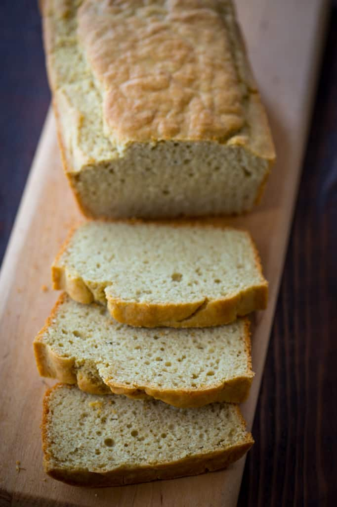 Healthy gluten-free breakfast bread recipe