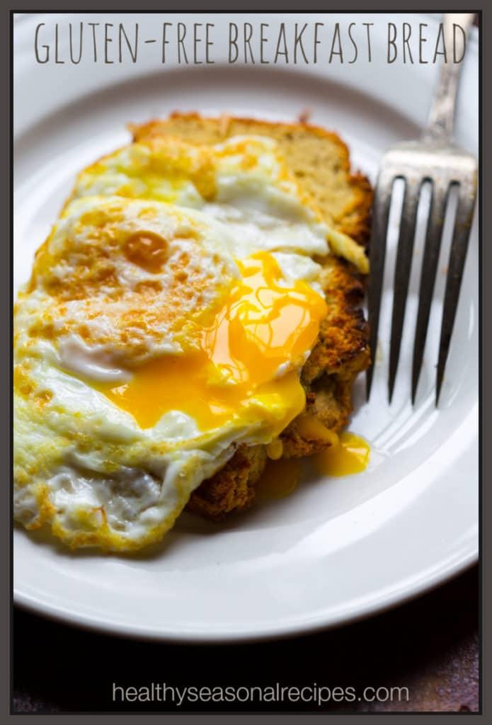 Healthy gluten-free breakfast bread recipe