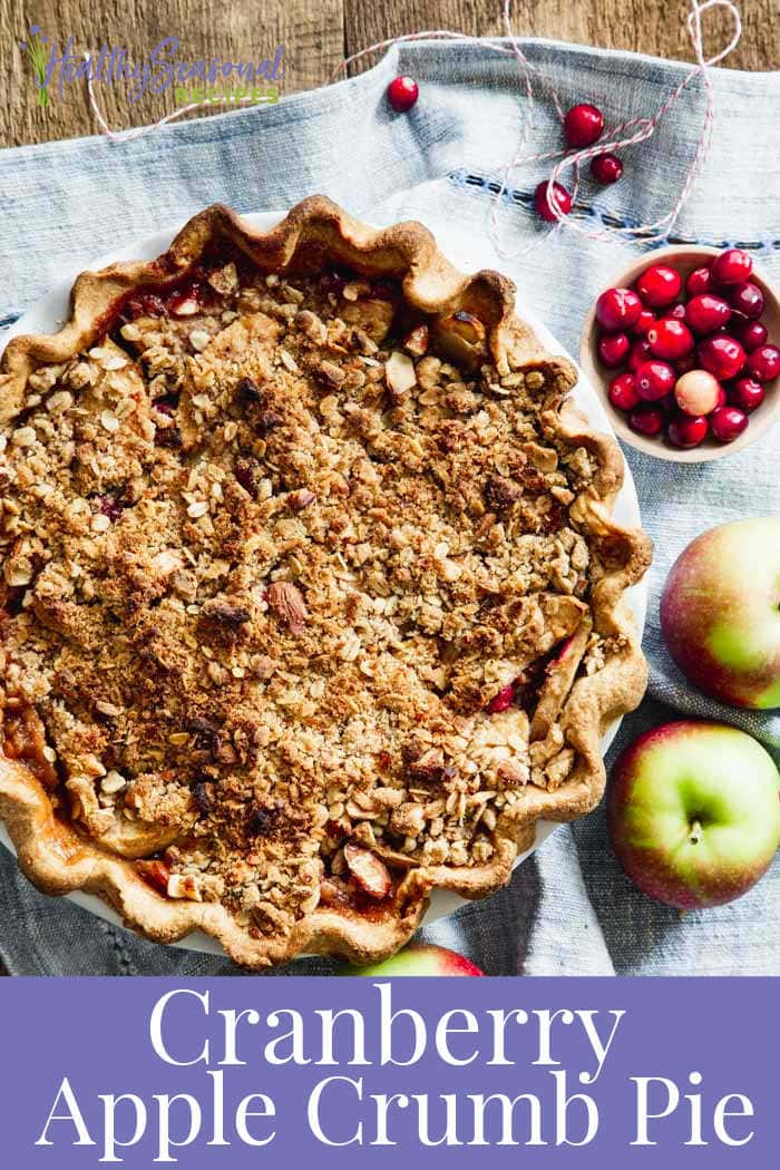 maple cranberry apple pie
