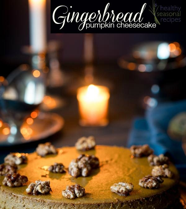 gingerbread pumpkin cheesecake