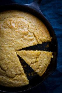 Gluten Free Skillet Cornbread on healthy seasonal recipes