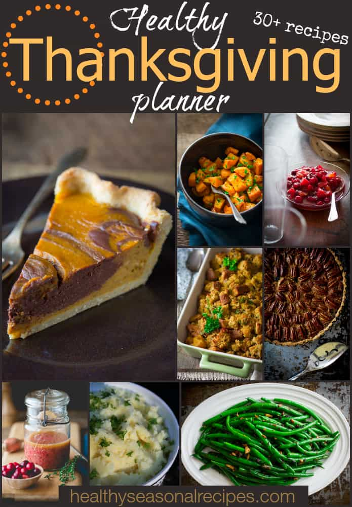 healthy thanksgiving planner ~ thursday things