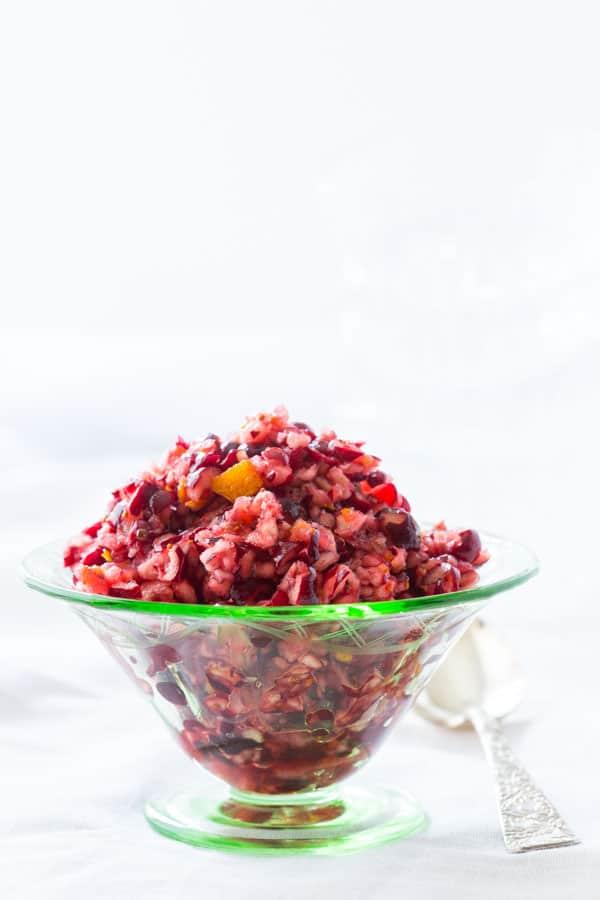 mom's Cranberry Orange Relish recipe.