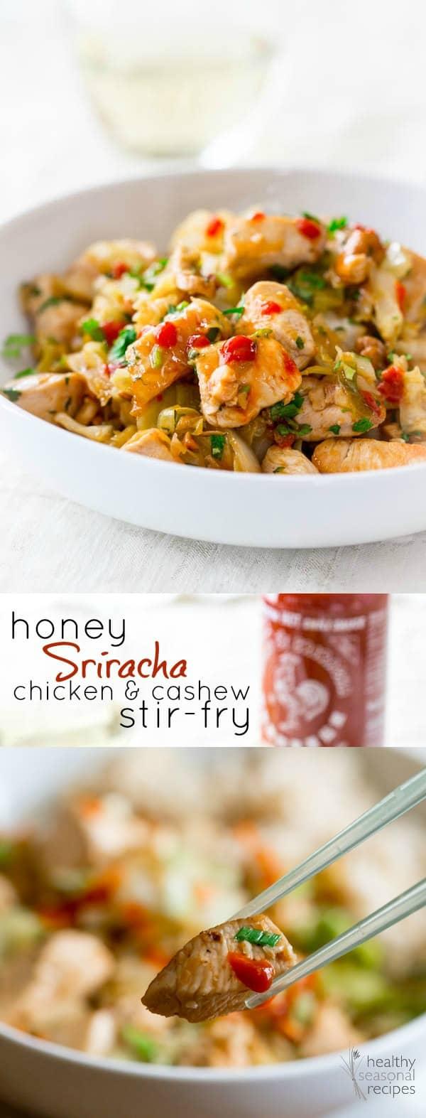 Healthy Cashew Chicken Stir Fry Recipe