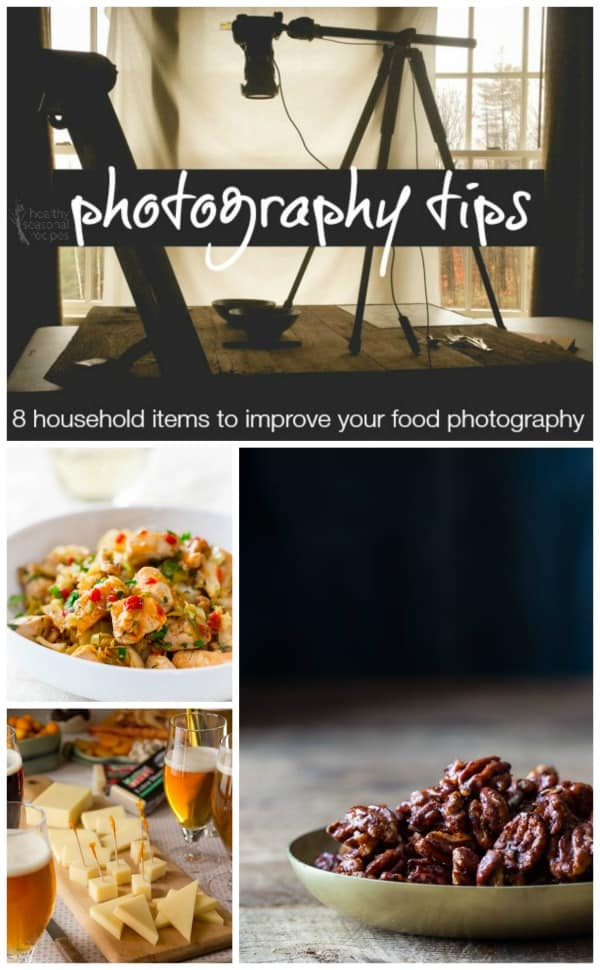 8 household items to improve your food photography on Healthy Seasonal Recipes