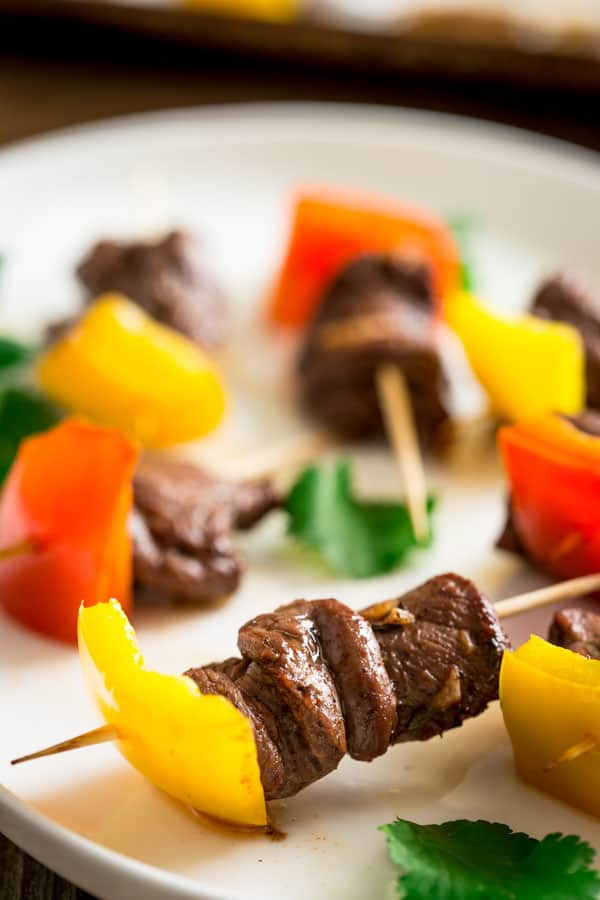 Mini Caribbean Spice Beef Kebabs on Healthy Seasonal Recipes