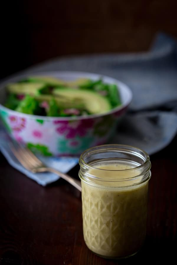 5 minute apple cider vinegar salad dressing
