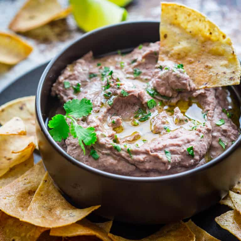 Black Bean Hummus Healthy Seasonal Recipes