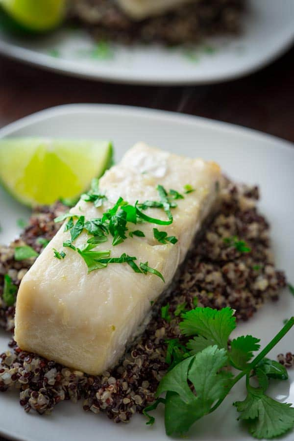 ginger lime black cod