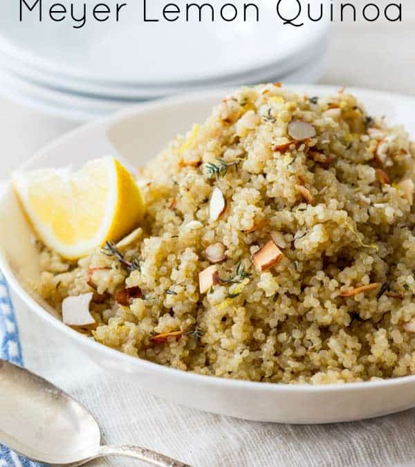 meyer lemon quinoa