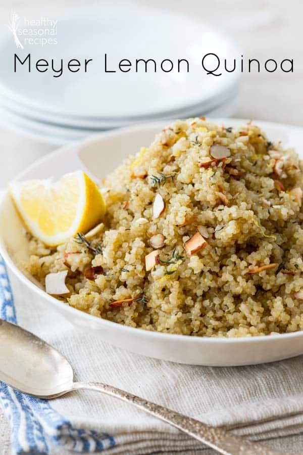 Lemony Quinoa Recipe — Dishmaps
