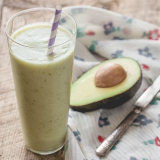Pear Avocado and Honey Smoothie on Healthy Seasonal Recipes