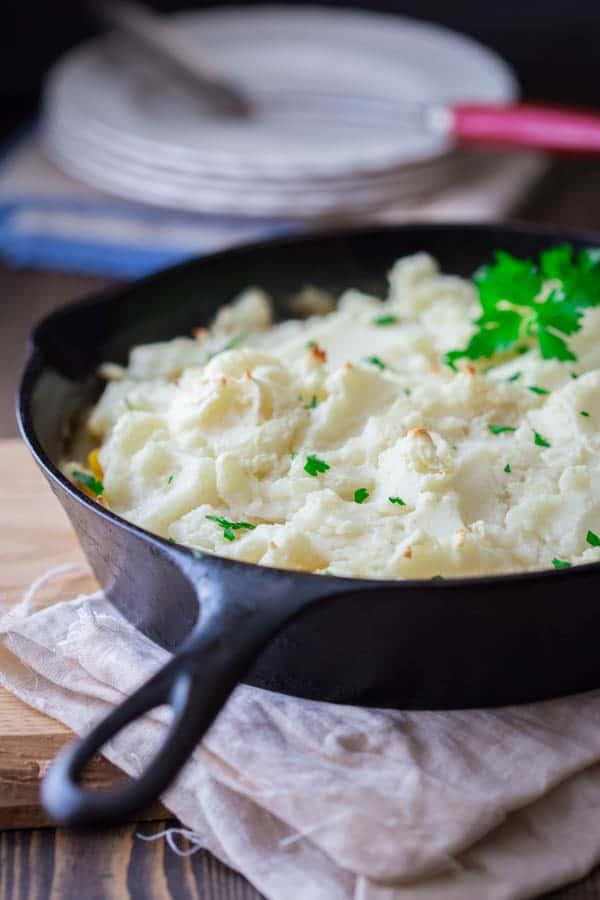 Chicken Leek Shepherd's Pie recipe on Healthy Seasonal Recipes