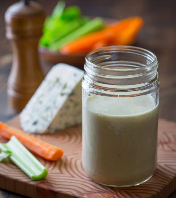 greek yogurt blue cheese dressing